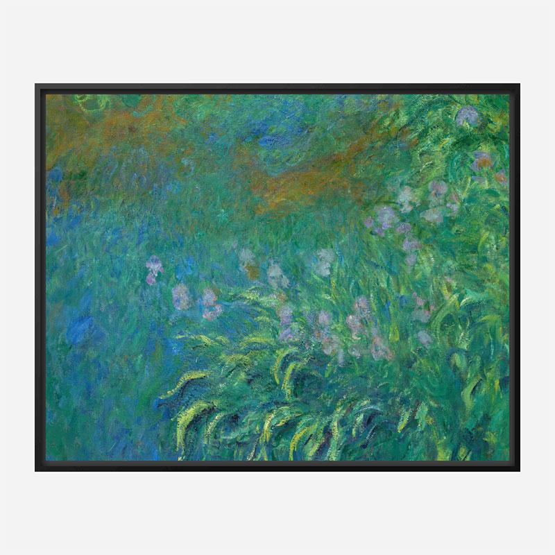 Irises by Claude Monet Art Print