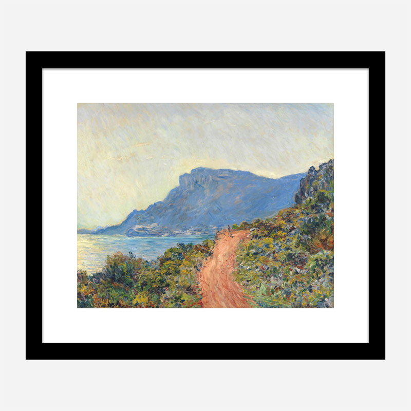 La Corniche by Claude Monet by Claude Monet Art Print