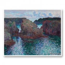 Rocks at Port Goulphar by Claude Monet Art Print