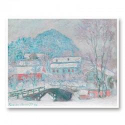 Sandvika Norway by Claude Monet Art Print