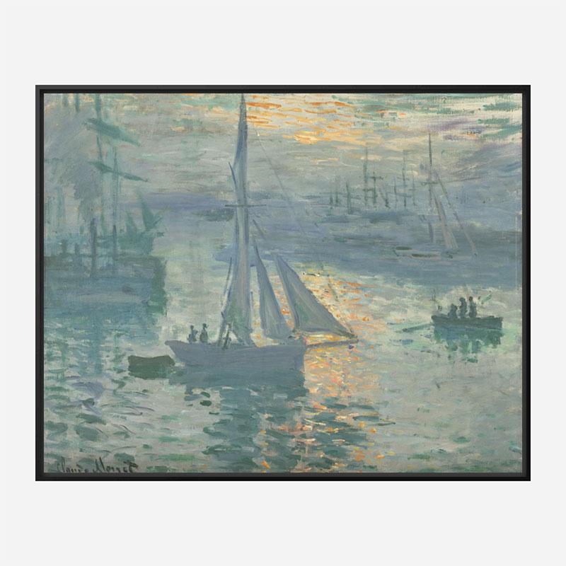 Sunrise by Claude Monet Art Print