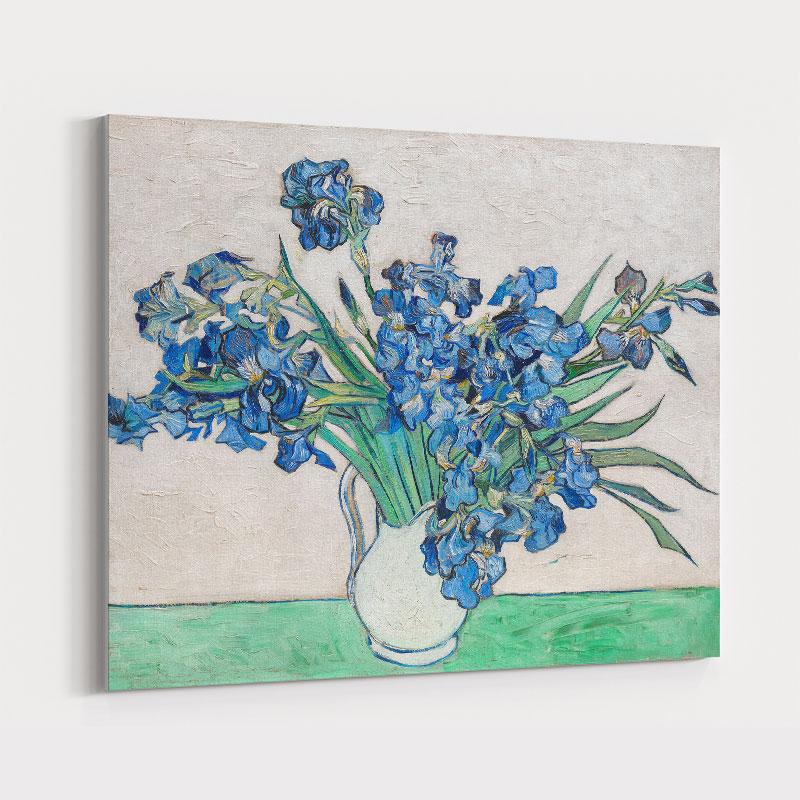 Irises 1890 by Vincent Van Gogh Art Print