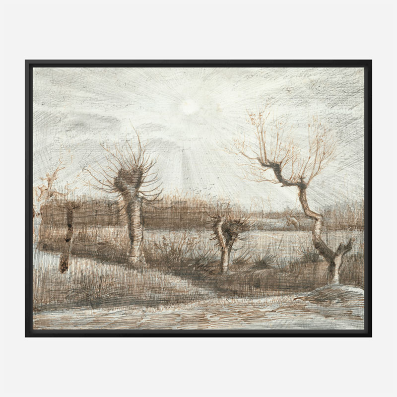 Tetards by Vincent Van Gogh Art Print
