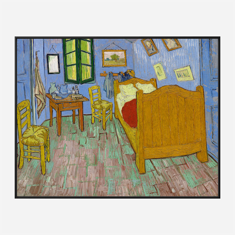 The Bedroom by Vincent Van Gogh Art Print