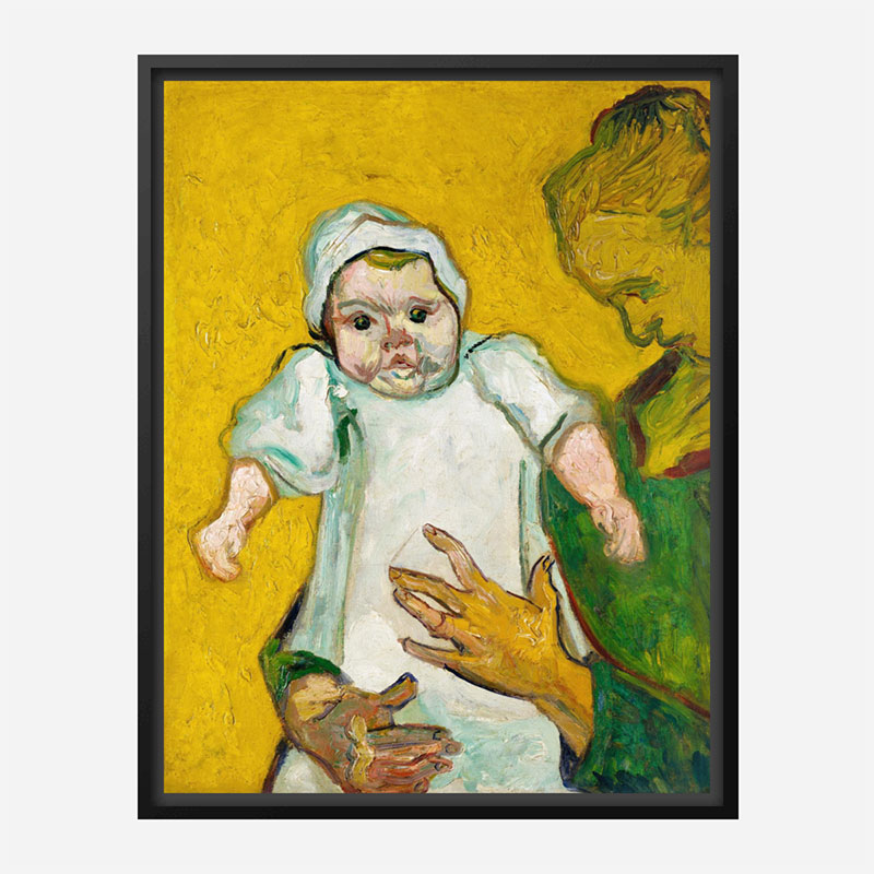 Madame Roulin and Her Baby by Vincent Van Gogh Art Print