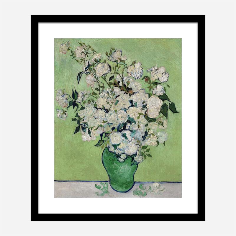 Roses by Vincent Van Gogh Art Print