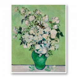 Roses by Vincent Van Gogh Art Print