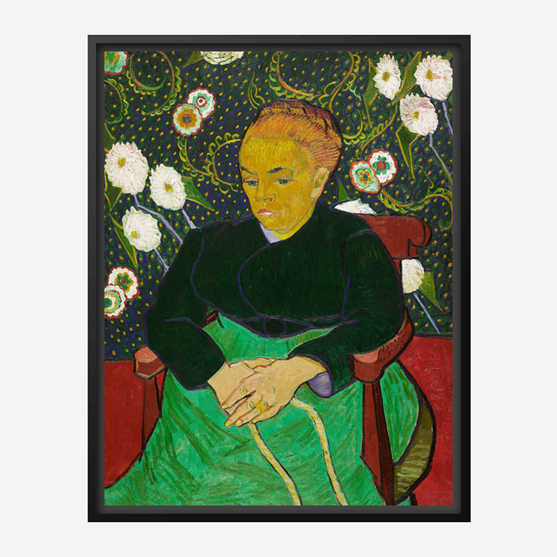 The Berceuse by Vincent Van Gogh Art Print