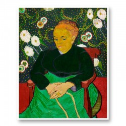 The Berceuse by Vincent Van Gogh Art Print