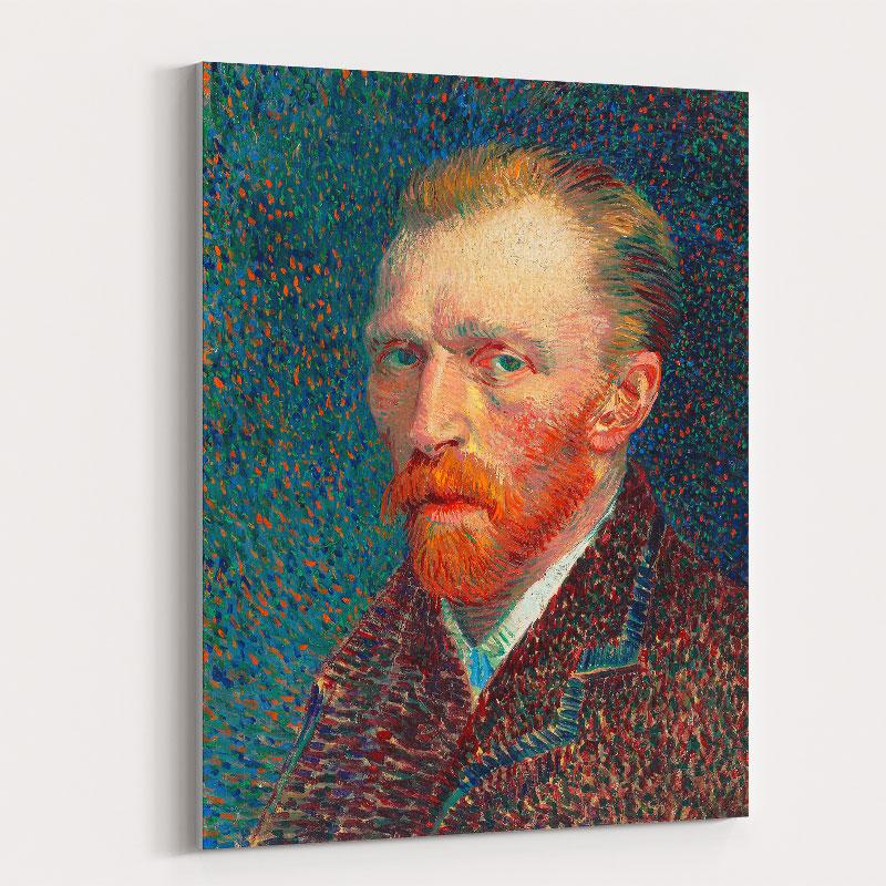 Self-Portrait 1887 by Vincent Van Gogh Art Print