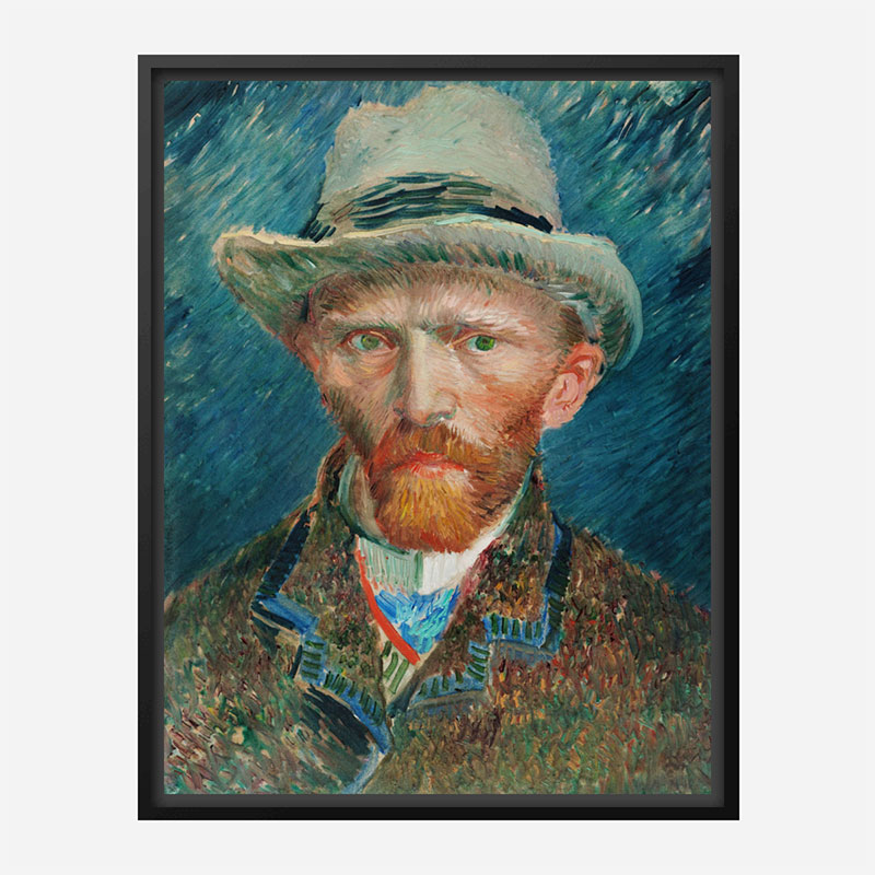 Self-Portrait 1888 by Vincent Van Gogh Art Print