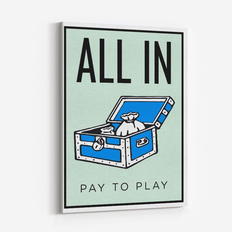 All In Art Print