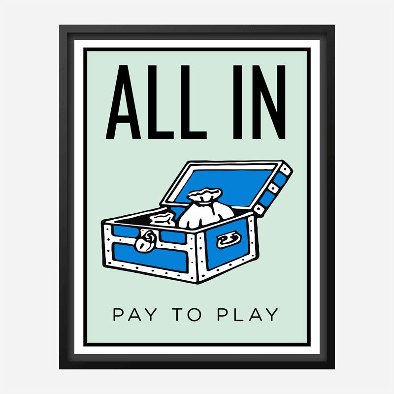 All In Art Print