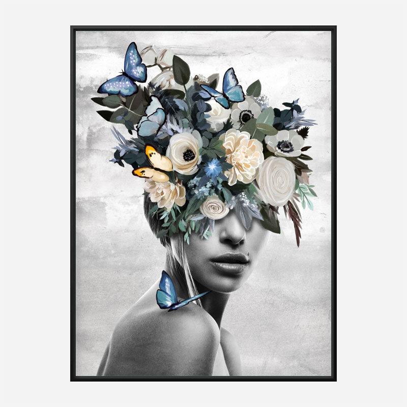 Blue Butterfly Art Print