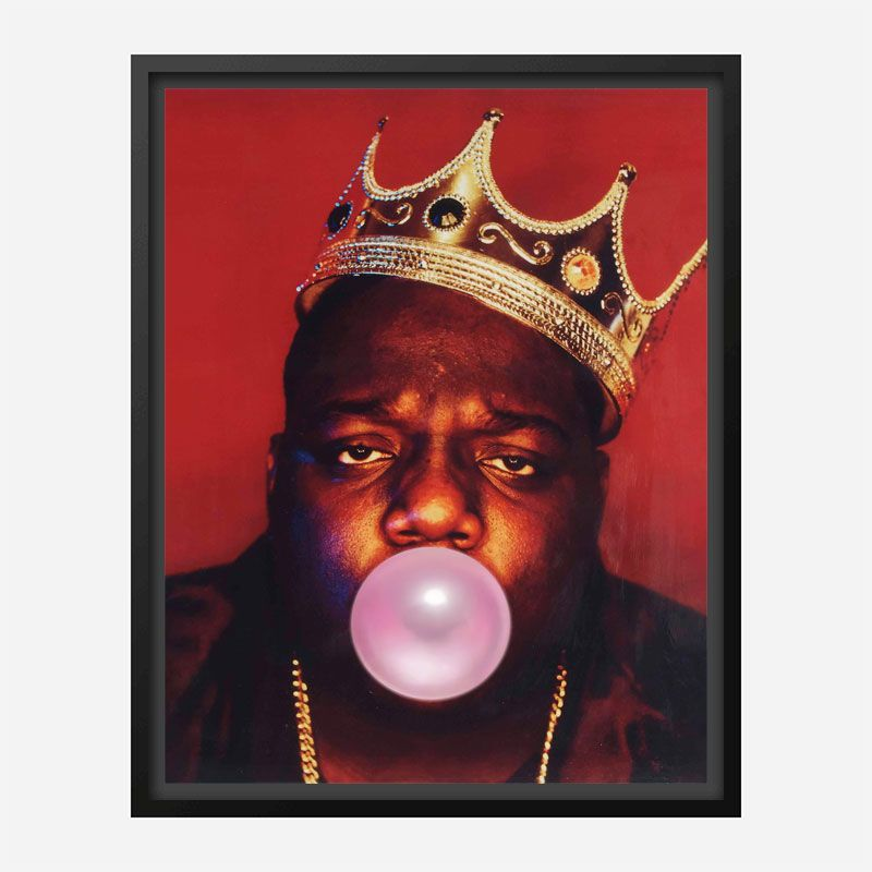The Notorious BIG Bubble Gum Art Print