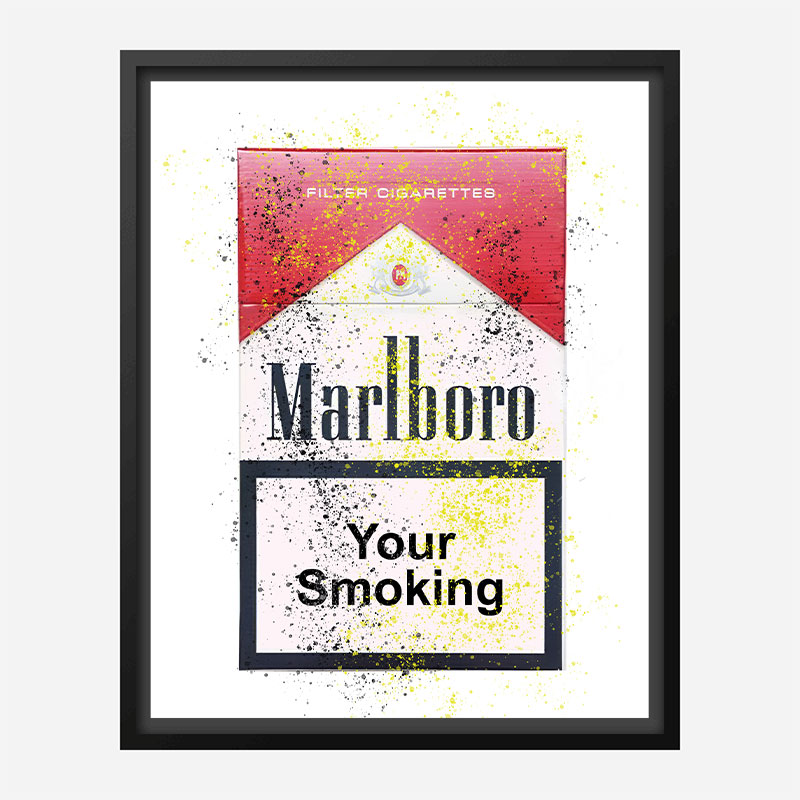 Your Smoking Art Print