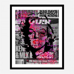 Marilyn Monroe Enquirer Pop Art Print