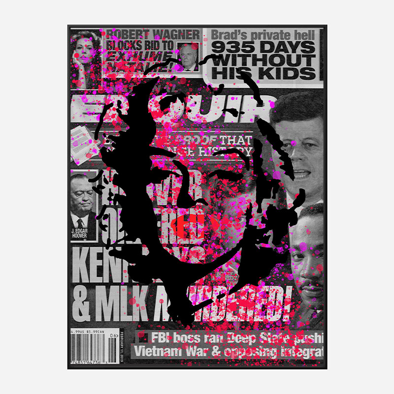 Marilyn Monroe Enquirer Pop Art Print