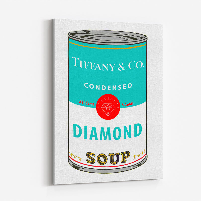 Tiffany Soup Pop Art Print