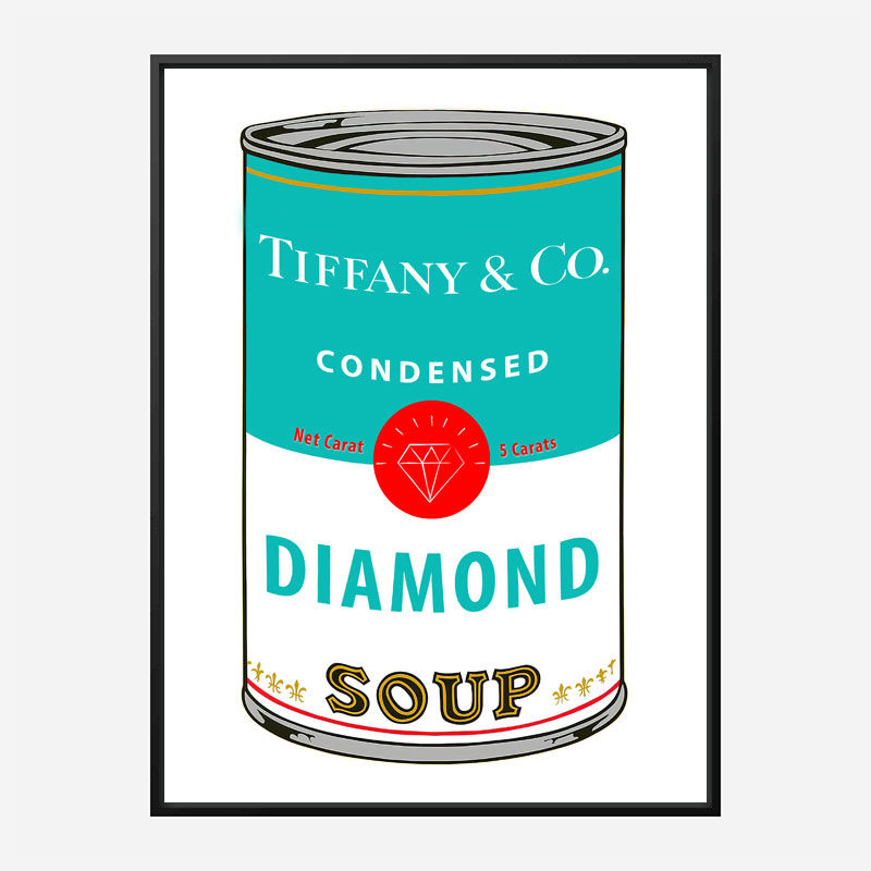 Tiffany Soup Pop Art Print