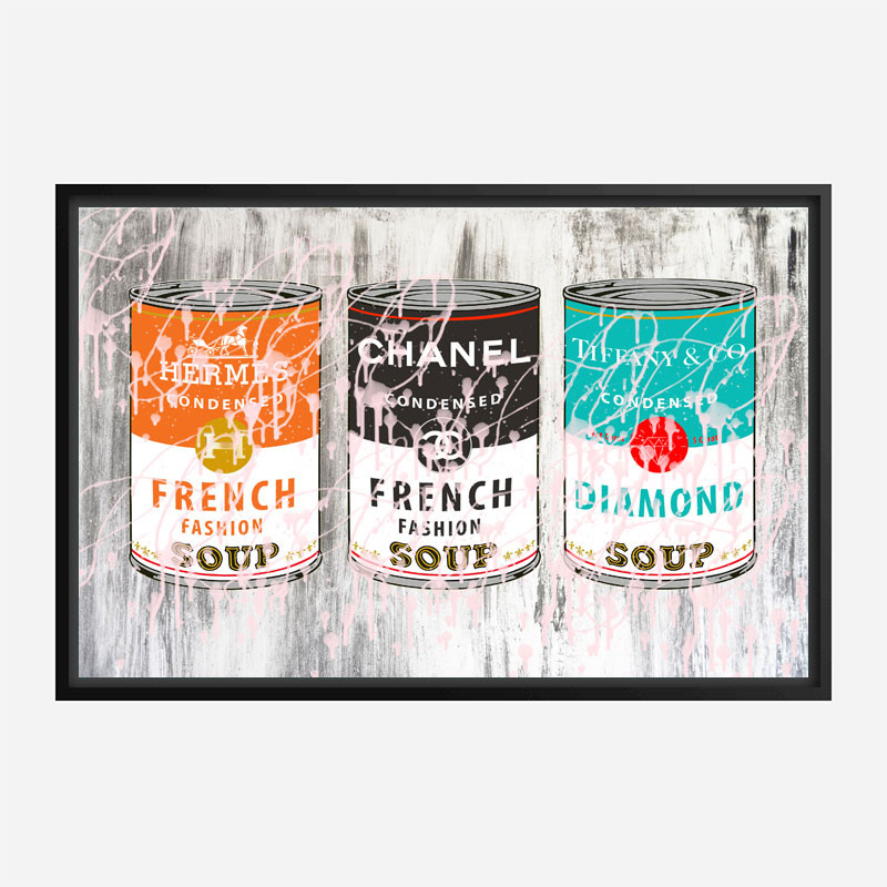 Fashion Soups Wall Art