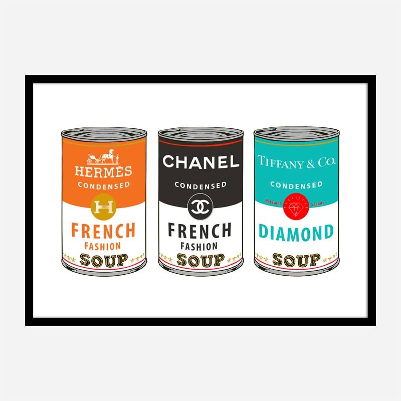 Fashion Soups Wall Art