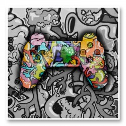 Gamer Graffiti Art Print