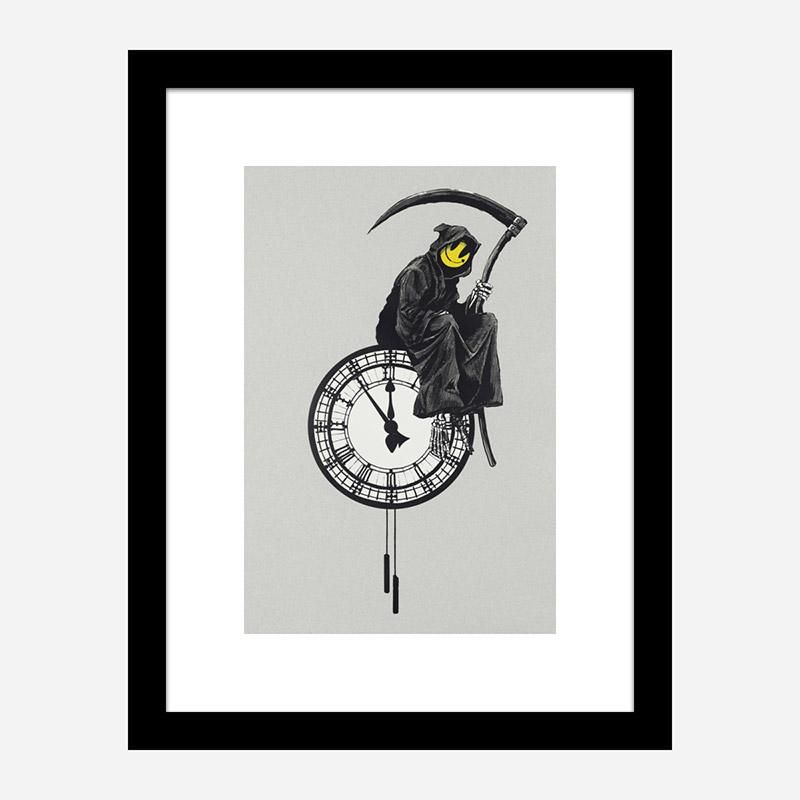 Grin Reaper Banksy Art Print