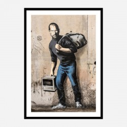 The Son of a Migrant from Syria Banksy Art Print
