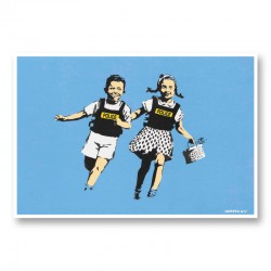 Jack and Jill Banksy Wall Art