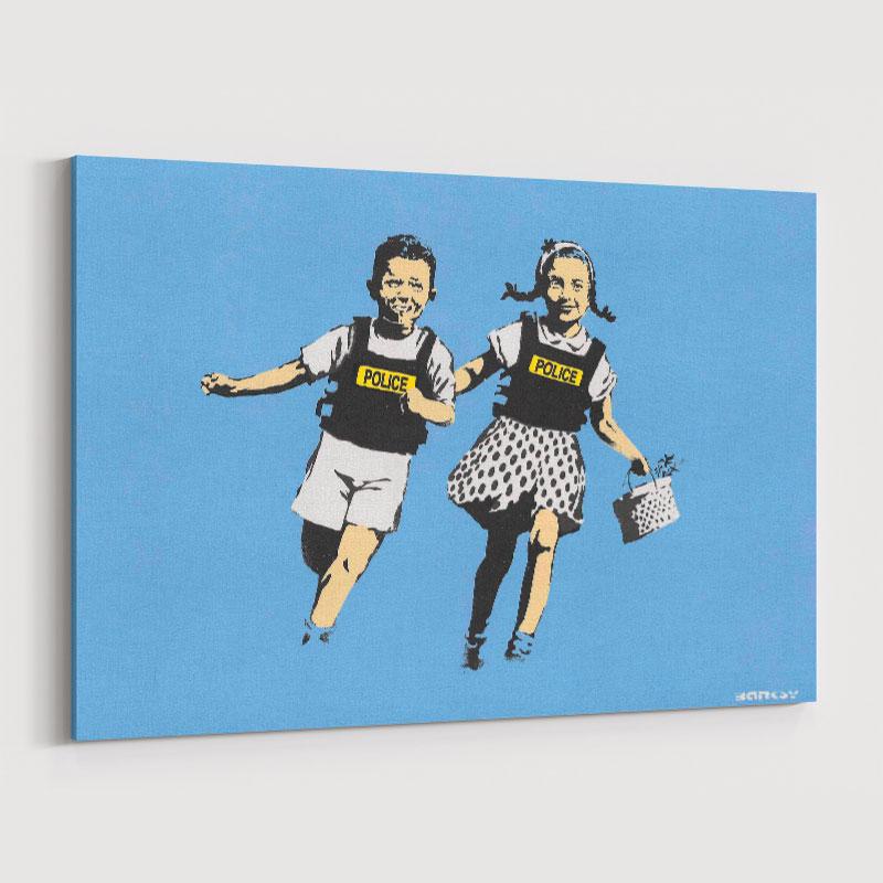 Jack and Jill Banksy Wall Art