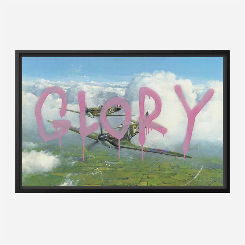 Glory Banksy Wall Art