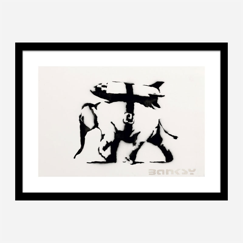 Heavy Weaponry Banksy Wall Art