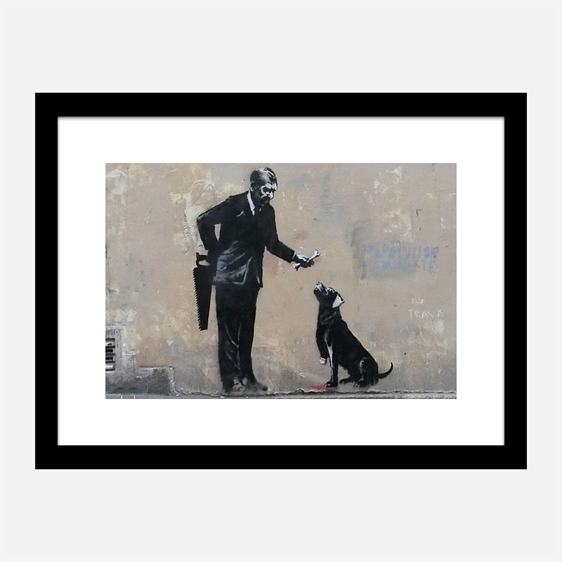 The Hand That Feeds Banksy Wall Art