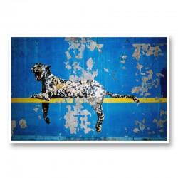 Banksy Bronx Zoo Leopard Wall Art