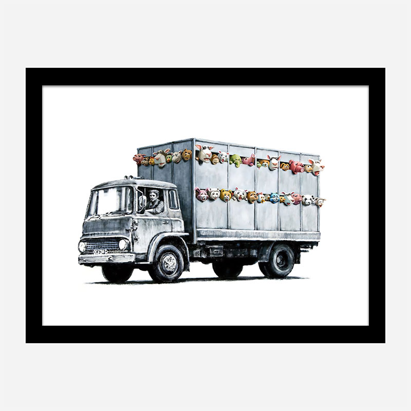 Meat Truck Banksy Wall Art Print