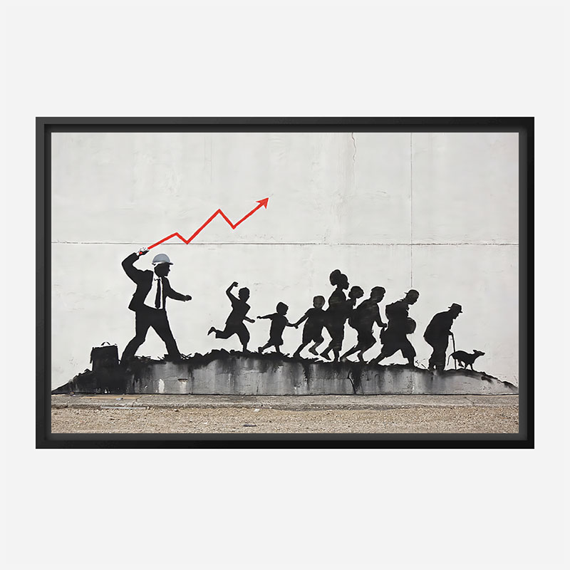 Banksy The Whip Wall Art Print