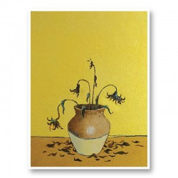 Sunflowers by Banksy Art Print