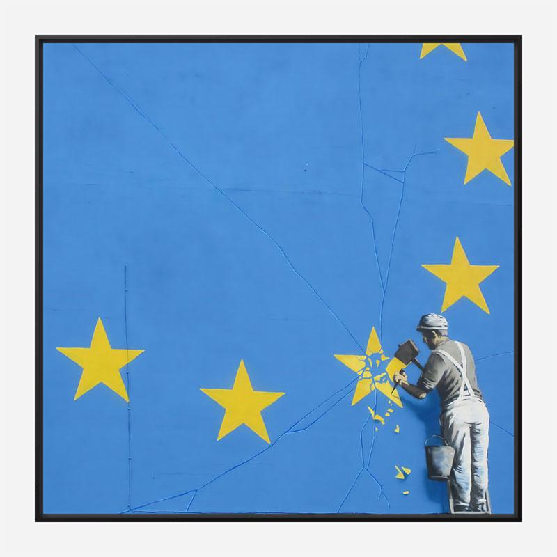 Brexit mural by Banksy Art Print