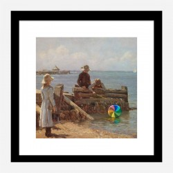 A Frozen Moment by Banksy Art Print