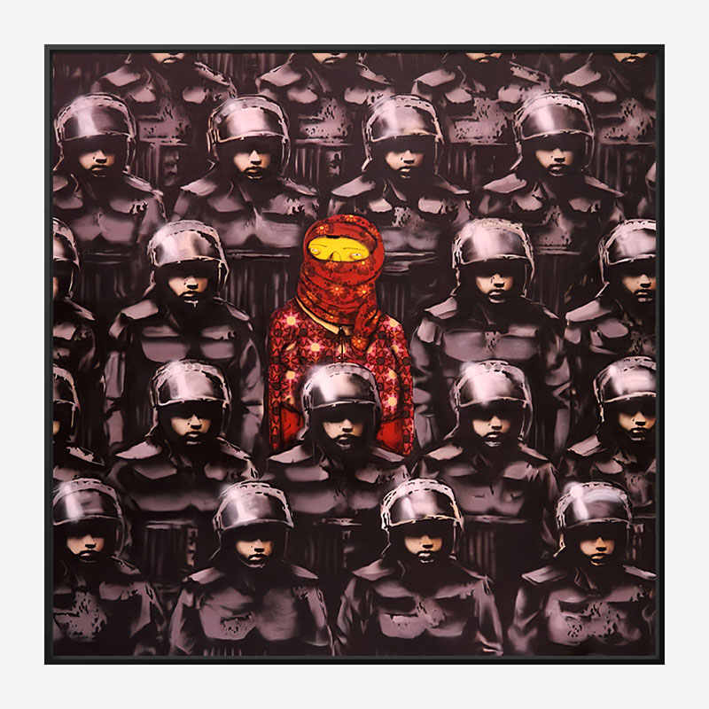 West 24th Street #2 by Banksy Art Print