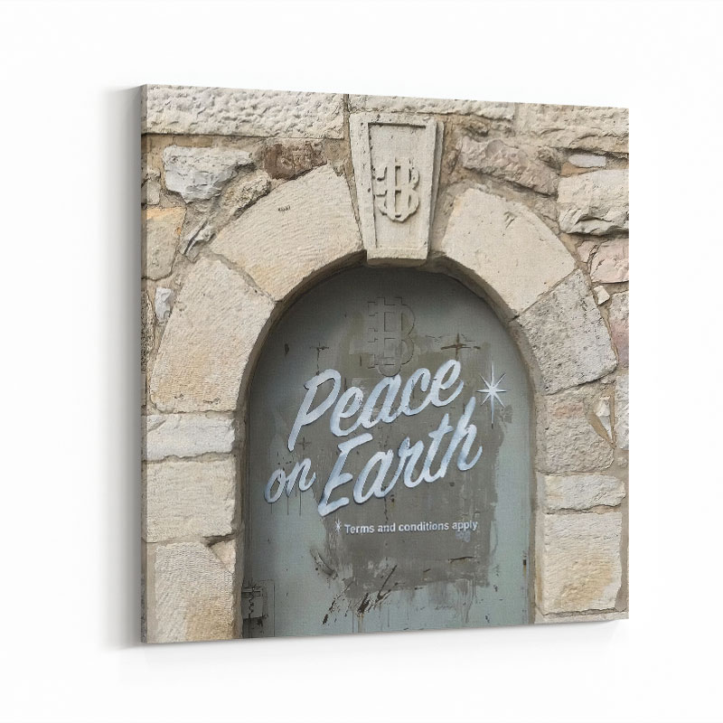 Banksy Peace On Earth Art Print