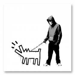Choose Your Weapon by Banksy Art Print