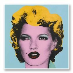 Kate Moss by Banksy Art Print