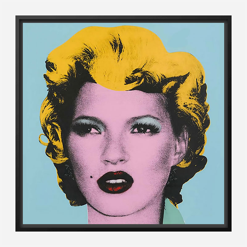 Kate Moss by Banksy Art Print