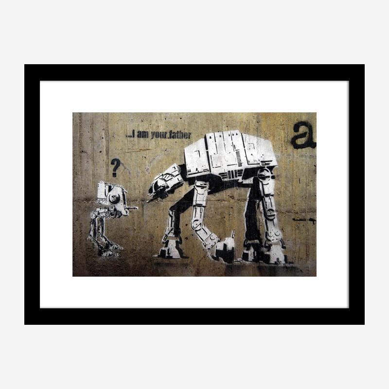 I Am Your Father Banksy Wall Art