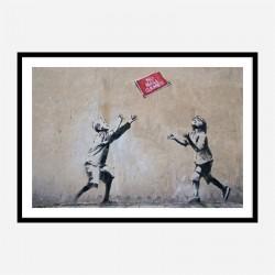 No Ball Games Banksy Wall Art