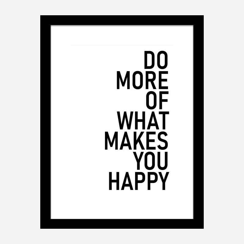 Do More Typography Wall Art