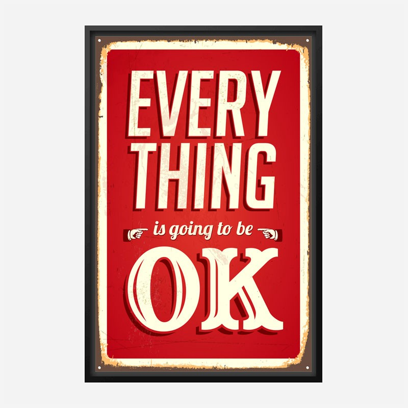 Everything Typography Wall Art